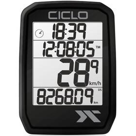 Ciclosport Protos 205 Fietscomputer, zwart